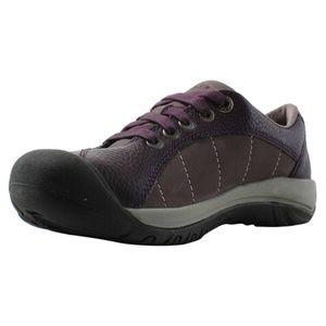 KEEN Presidio Trail/Hiking Shoes in Plum, 9